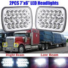 "7x6"" LED Headlight Hi/Lo Sealed Beam For International 9400 4900 4800 4700 Truck"
