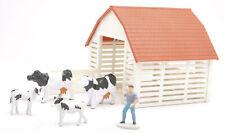 - NEW05355A - Ferme en kit + vaches et 1 personnage