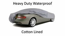 PORSCHE CARRERA 911 TURBO INDOOR OUTDOOR FULLY WATERPROOF CAR COVER COTTON LINED