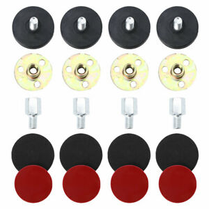 4 Sets Adjustable Bed Anti-Shake Tool Bedside Headboard Stoppers Support Feet