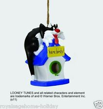 10220 Sylvester Cartoon Cat Warner Brothers Looney Tunes Bird House Outdoor