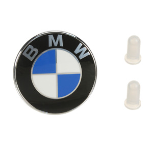 For BMW GENUINE Trunk Lid Emblem & 2 grommets 51 14 8 219 237/51 14 8 209 932