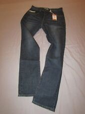 mens staple work jeans  30x32 nwt $68 dark stone wash