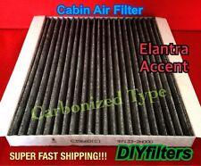 C35660 Elantra 2007-2014 & Accent 2011 CARBON CABIN AIR FILTER CF10728 PHB5660
