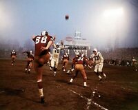 NFL 1964 Washington Redskins vs Baltimore Colts Game Action Color 8 X 10 Photo