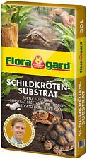 Floragard Schildkrötensubstrat Schildkröten Erde Terrarienerde Bodengrund