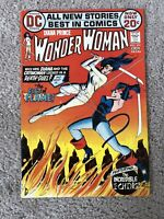 WONDER WOMAN #201 (1972.) CATWOMAN APP!!  HIGHER GRADE!!!