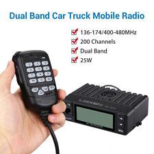 Mini 25W Dual Band 136-174MHz/400-480MHz Vehicle Car Mobile Ham Amateur Radio AU