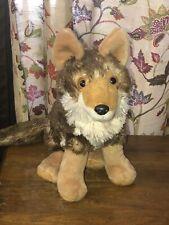 "Wild Republic Coyote 12"" Tall Sitting Cuddlekins Plush Toy"