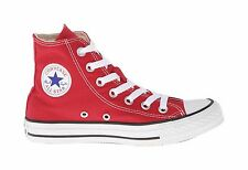 a0b23baf442 Converse Sneakers All Star Chuck Taylor Men Size Red Hi Top Canvas Shoes  M9621