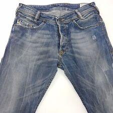 Diesel POIAK Mens Jeans W29 L33 Blue Slim Fit Skinny Mid Rise
