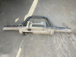Land Rover Defender large heavy duty Winch Bumper