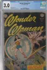 WONDER WOMAN #57 CGC 3.0 1953