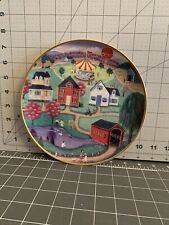 The American Folk Art Collection Spring Fair Plate Steven Klein Limited Edition