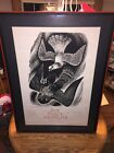 Signed Fritz Eichenberg Poster The Dove and the Hawk Peace Museum Chicago