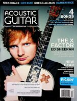 Acoustic Guitar Magazine December 2014 The X Factor Ed Sheeran m597