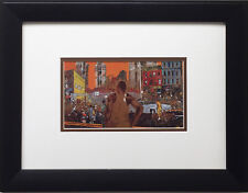 "LeRoy Neiman ""Harlem Street Scene"" Newly CUSTOM FRAMED Art Print NYC Manhatten"