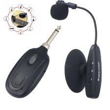 UHF Professional Wireless Instrument Microphone for Violin Guitar Accordion Bass