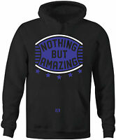 """NOTHING BUT AMAZING"" Hoodie to match Air Retro 11 ""SPACE JAM"" 2016"