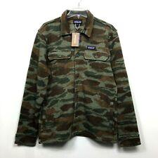 Patagonia Men's Better Sweater Shirt Fleece Jacket Camo Shacket Size Medium NWT