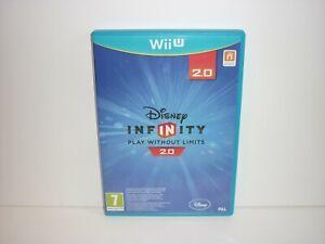 DISNEY INFINITY 2.0 MARVEL - NINTENDO WII U - UK PAL - FREE UK POSTAGE