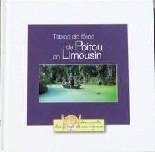 Tables de fêtes de Poitou en Limousin  - Bocuse - Col. Chefs de nos régions