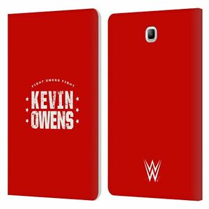 OFFICIAL WWE KEVIN OWENS LEATHER BOOK WALLET CASE FOR SAMSUNG GALAXY TABLETS