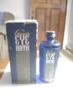 EDWARD'S EYE BATH Edwards Drug & Chemical Co Detroit Mich, Bottle & Box VG cond