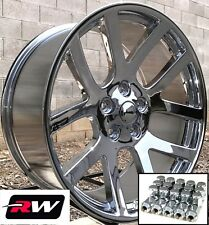 "22"" Dodge Viper OE Replica Chrome Wheels for Dodge Charger 22x9"" Rims & Lug Nuts"
