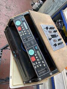 cd mixing decks old skool electro vision behringer mixer