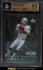 1998 Black Diamond Quadruple Peyton Manning ROOKIE RC /100 #91 BGS 9.5 GEM MINT