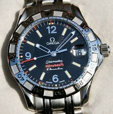 OMEGA SEAMASTER 200M OMEGAMATIC 2514.50.00 1998 Model with Box and Papers