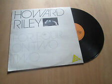 HOWARD RILEY for four on two two PIANO JAZZ - YES TO JAZZ / CHARLY Lp 1984