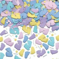 New Baby Shower Confetti Table Decor Girl Boy Party Decoration & New Born Party