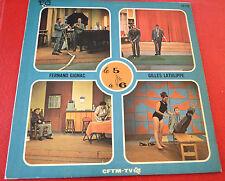 LP Album vinyl Fernand Gignac Gilles Latulippe Le 5 à 6 ! Trans Canada Records