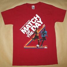 Match of the Day T Shirt - Official BBC - Cardinal Red - New in Pack - Medium