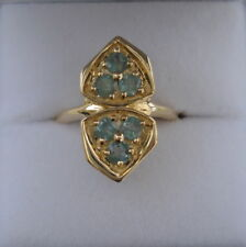 Certified Natural Colour Change Alexandrite Gold Ring