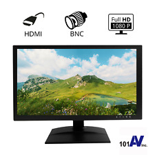 """HD 18.5"""" Surveillance Security LED Monitor BNC HDMI Input Output Looping"""