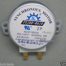 TYJ50-8A19 120V AC  microwave oven turntable synchronous motor UL listed  w/RoHs