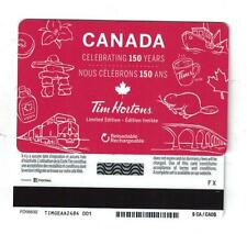Tim Hortons CANADA CELEBRATING 150 YEARS GIFT CARD FD56632