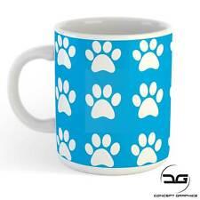 Paw Print Funny Novelty Cat Dog Animal Lovers Coffee Cup Mug Gift Present