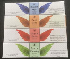 4 Packs Of Green Tree Angel Divine Incense Sticks. (approx 12 Sticks Per Pack)