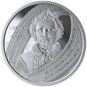 Louis Riel: Father of Manitoba - 2019 Special Edition Proof Silver Dollar