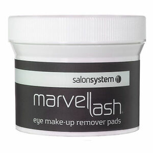 Marvellash Eye Make Up Remover Pads Contains 75 pads by Salon System