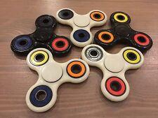 Tri-Spinner Fidget Toy Ceramic EDC Hand Finger Spinner Desk Focus - MULTI-COLOR