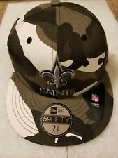 NFL New Orleans Saints Urban Camo New Era 59Fifty 7 3/8 Fitted Hat Cap Camouflag