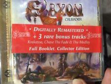 SAXON - CRUSADER (SPECIAL EDITION) + 3 RARE BONUS TRACKS & BOOKLET  CD AS NEW!