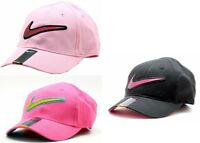 Nike Girl's Embroidered Nike Swoosh Logo Baseball Cap Sz 4/6X