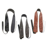 Adjustable Durable Guitar Leather Strap Belt for Acoustic Electric Guitar