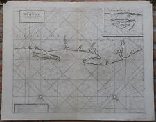 Antique Print-SEA CHART-NORWAY-LAPLAND-RUSSIA-VARDO-RYBACHY-Thornton-1702